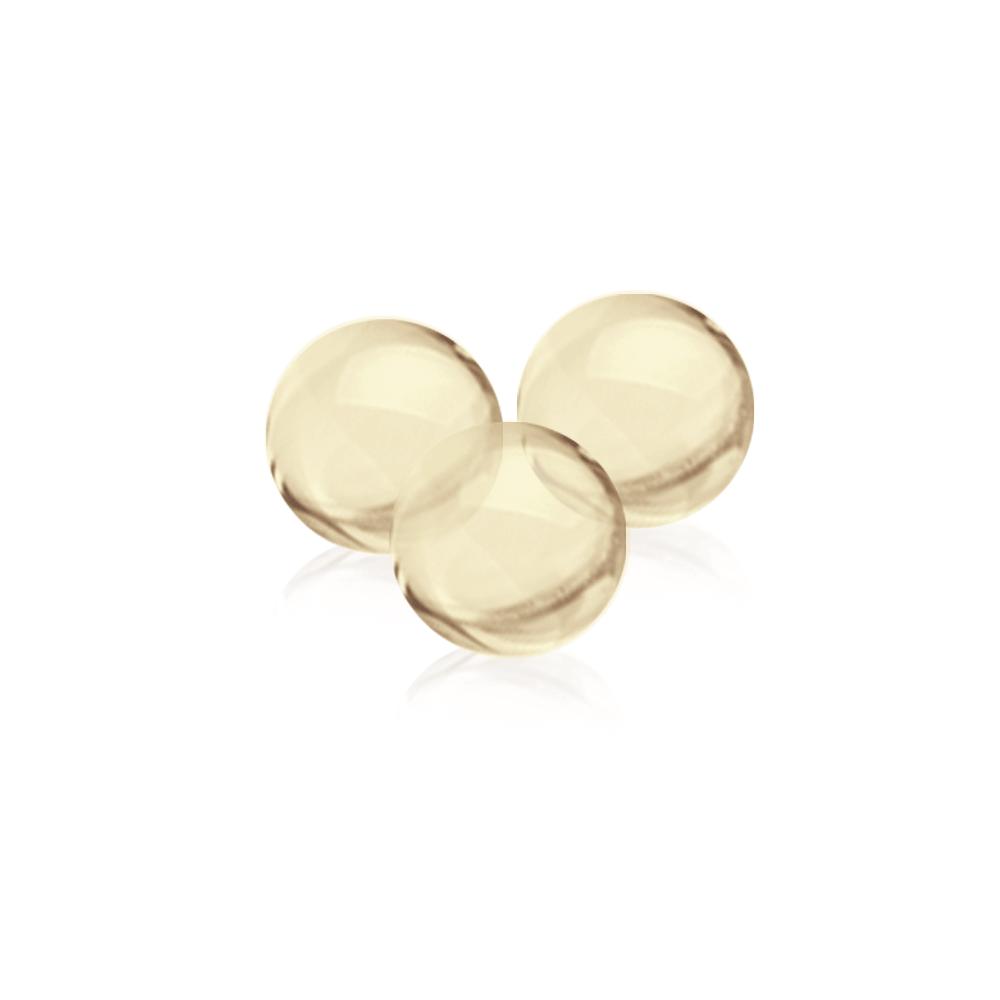 White Omega Pearlz sind Fischölkapseln in Perlenform