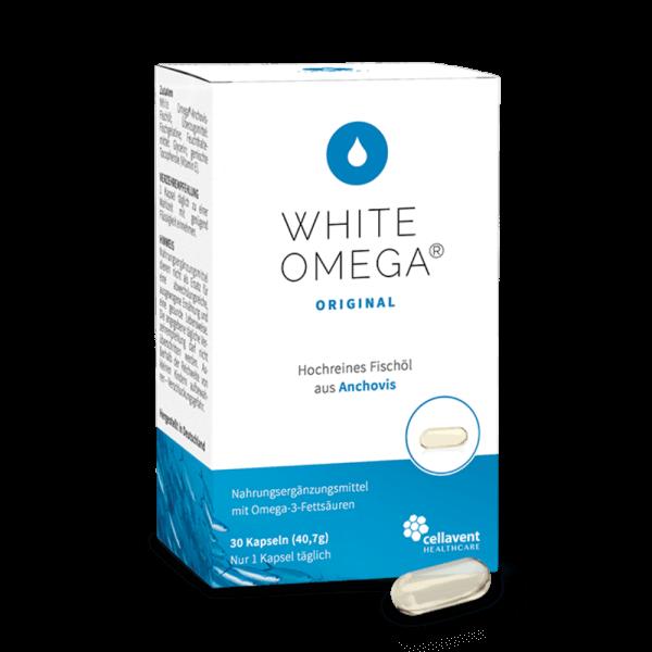 White Omega Original Packung mit Kapsel