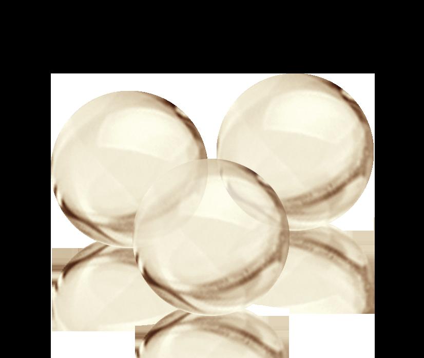 White Omega pearlz