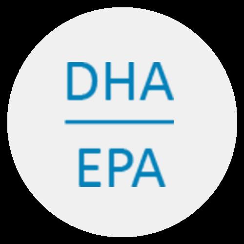 Docosahexaensäure (DHA) ist eine mehrfach ungesättigte Fettsäure. Sie gehört der Klasse der Omega-3-Fettsäuren an.