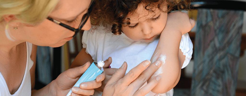 Hautprobleme bei Kindern