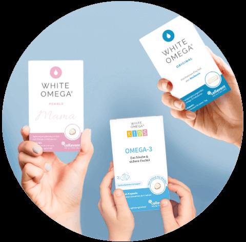 White Omega Produkte