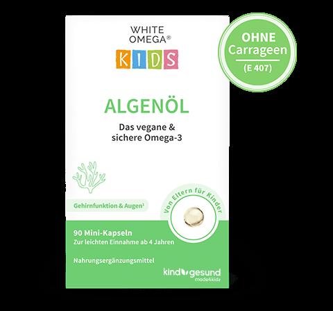 White Omega Kids Algenöl