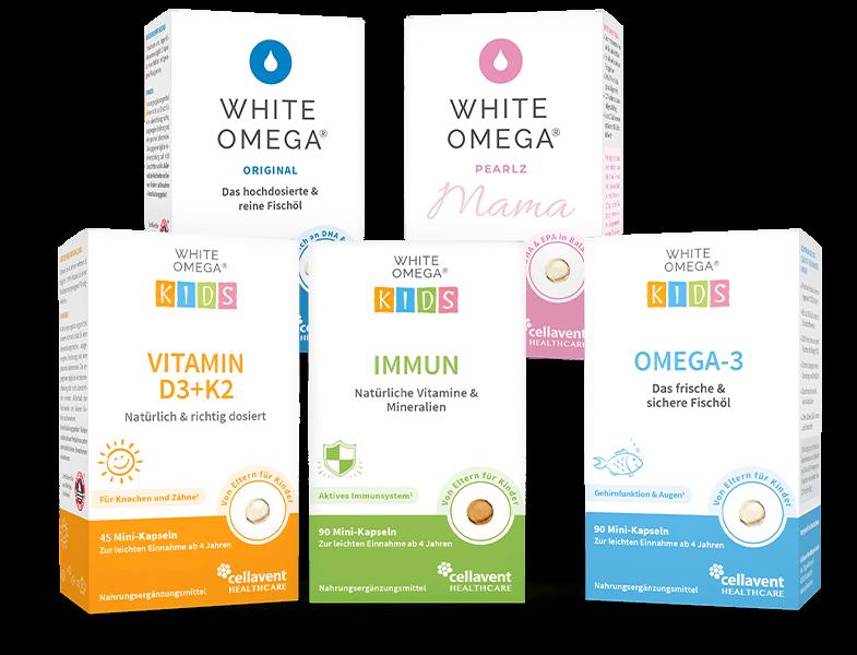 White Omega Produktfamilie